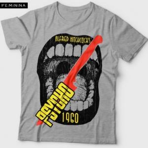 Camiseta Psicose 1960 Psycho Feminina Cover