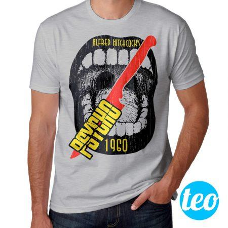 Camiseta Psicose 1960 Psycho Masculina Cover
