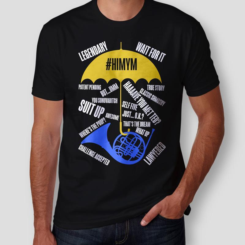 Camiseta How I Met Your Mother #HIMYM Masculina Cover