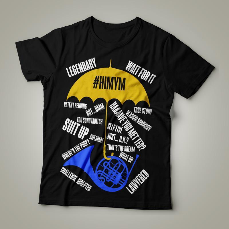 Camiseta How I Met Your Mother #HIMYM Feminina Cover