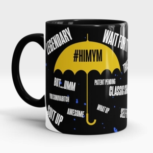 Caneca How I Met Your Mother #HIMYM Lateral Direita 2