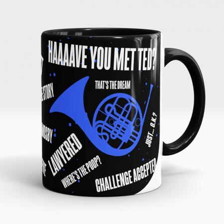 Caneca How I Met Your Mother #HIMYM Lateral Esquerda