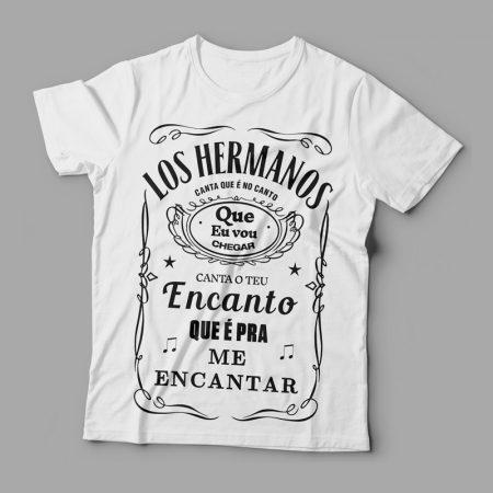 Camiseta Los Hermanos Feminina Branca