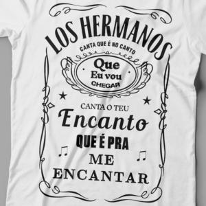 Camiseta Los Hermanos Feminina Branca Zoom