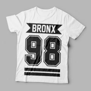 Camiseta Bronx 98 Feminina Branca