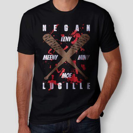 Camiseta The Walking Dead Lucille Masculina Cover
