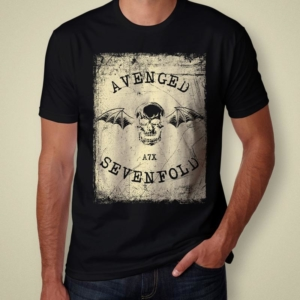 Camiseta Avenged Sevenfold A7x Masculina Cover