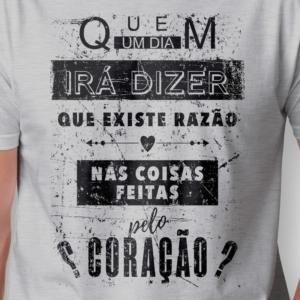 Camiseta Eduardo e Mônica masculina zoom