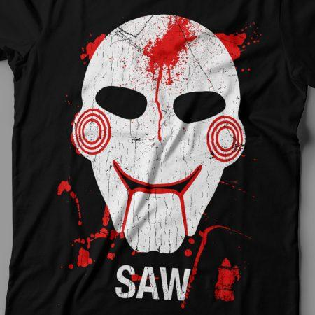 Camiseta Saw Feminina Jogos Mortais Zoom