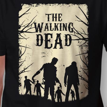 Camiseta the walking dead walkers arte