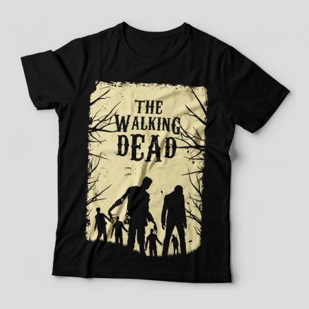 Camiseta the walking dead walkers feminina cover