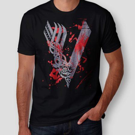 Camiseta Vikings Masculina Cover