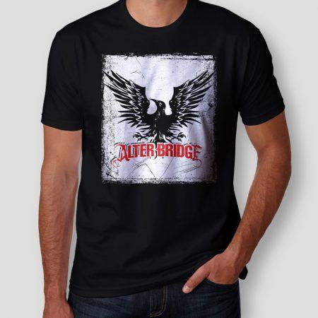 Camiseta Alter Bridge Masculina Cover