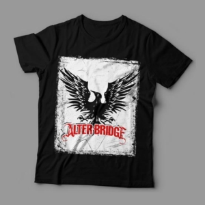 Camiseta Alter Bridge Feminina Cover
