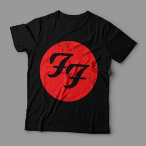 Camiseta Foo Fighters Feminina Cover