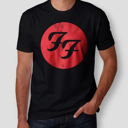 Camiseta Foo Fighters Masculina Cover