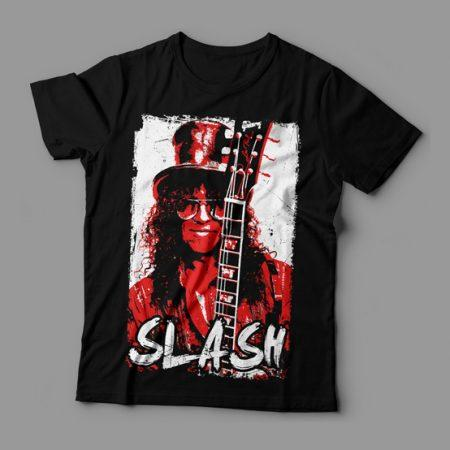 Camiseta Slash Feminina Cover