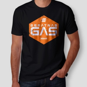Camiseta The Expanse Beratnas Gas Masculina Cover
