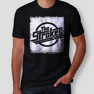 Camiseta The Strokes Distressed Masculina