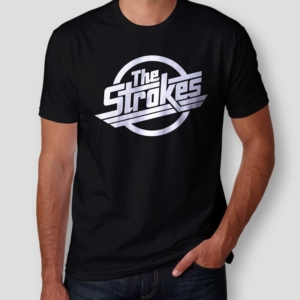 Camiseta The Strokes Logo Masculina Cover