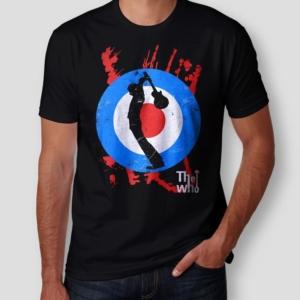 Camiseta The Who Masculina Cover