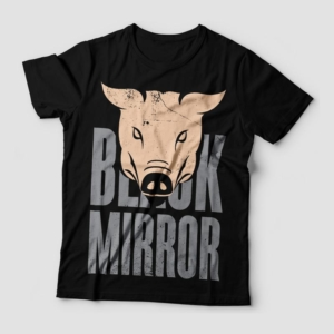 Camiseta Black Mirror Feminina Cover