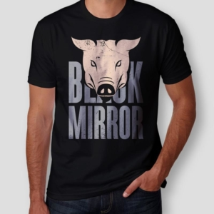 Camiseta Black Mirror Masculina Cover