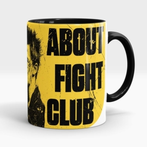 Caneca Clube da Luta Fight Club Lateral Esquerda