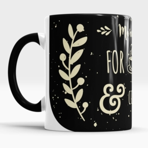 Caneca Mornings Are For Coffee And Contemplation Lateral direta 2