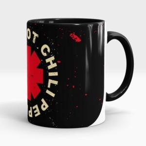 Caneca Red Hot Chili Pepper Lateral Esquerda
