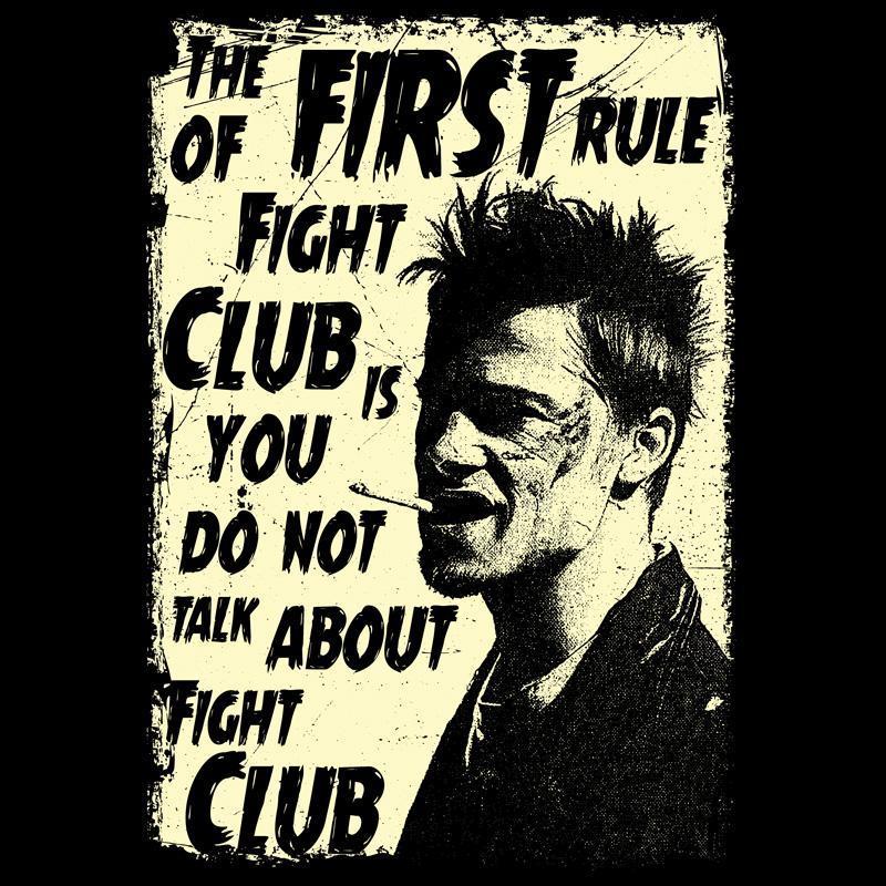 Camiseta Clube da Luta Arte