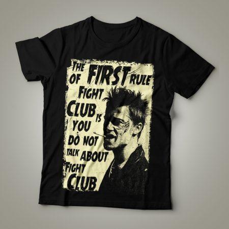 Camiseta Clube da Luta Feminina Cover