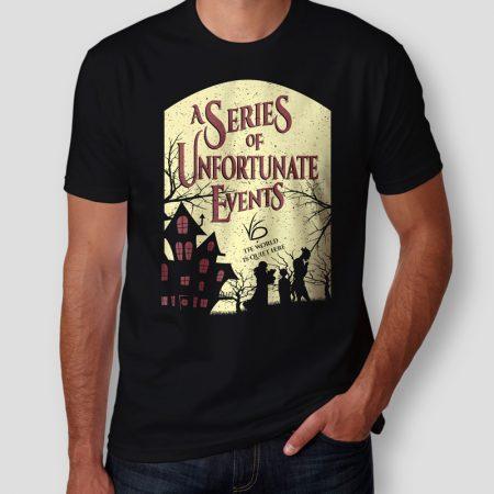 Camiseta Desventuras Em Série Masculina Cover