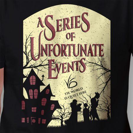 Camiseta Desventuras Em Série Masculina Zoom