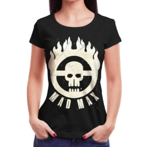 Camiseta Mad Max Immortan Joe Feminina Capa