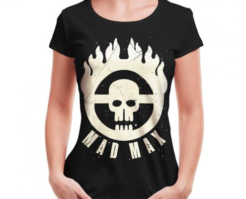 Camiseta Mad Max Immortan Joe Feminina Capa