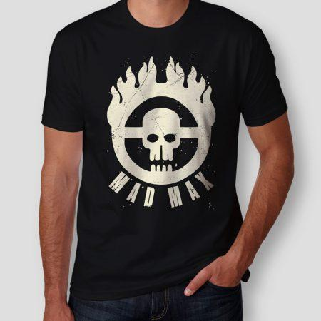 Camiseta Mad Max Immortan Joe Masculina Capa