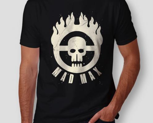 Camiseta Mad Max Immortan Joe Masculina Capa