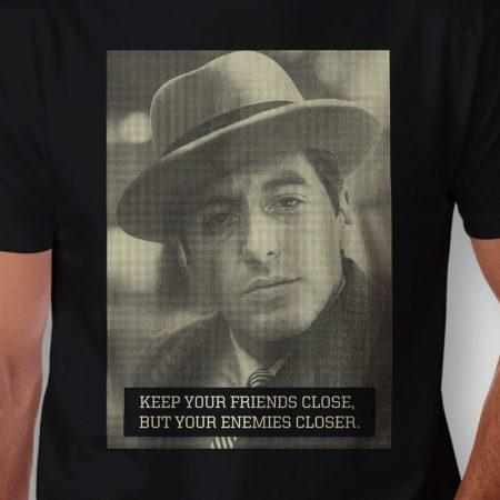 Camiseta Michael Corleone Masculina Zoom 1x