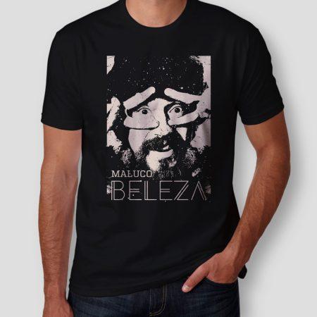 Camiseta Raul Seixas Maluco Beleza Masculina Cover
