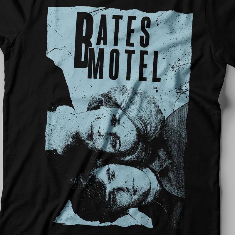 Camiseta Bates Motel Norma e Norman Feminina Zoom