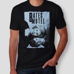 Camiseta Bates Motel Norma e Norman Masculina Capa