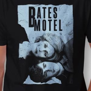 Camiseta Bates Motel Norma e Norman Masculina Zoom