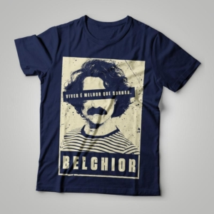 Camiseta Belchior Feminina Capa