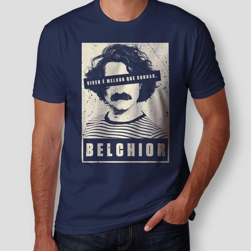 Camiseta Belchior Masculina Capa