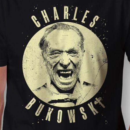 Camiseta Charles Bukowski Masculina Zoom