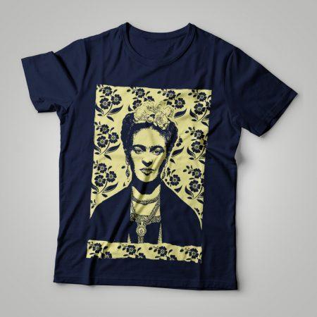 Camiseta Frida Kahlo Feminina Cover