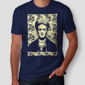 Camiseta Frida Kahlo Masculina Cover