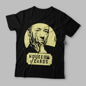 Camiseta House of cards feminina Cover