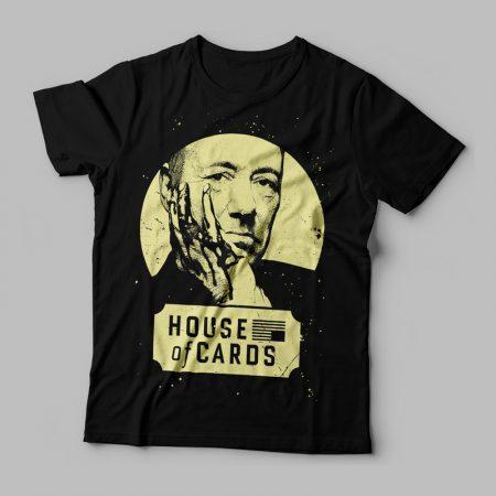Camiseta House of cards feminina Cover